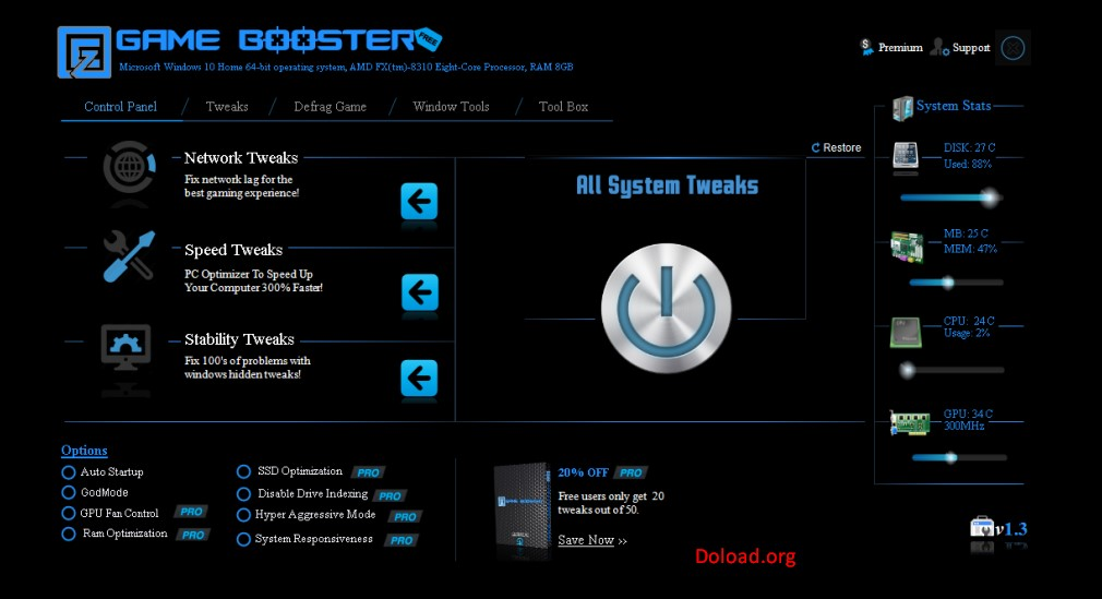 EZ Game Booster Pro